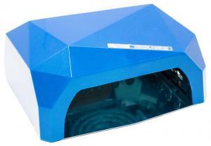 Професійна LED-лампа з сенсором для полімеризації гелю, синя 36W - 00-00002652