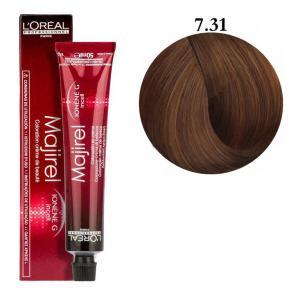 Крем-фарба для волосся L'Oreal Professionnel Majirel №7/31 Світлий коричневий попелястий  50 мл - 00-00002693