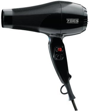 Фен для волосся Gamma Piu Tormalioniс 7005 чорний  - 00-00002888