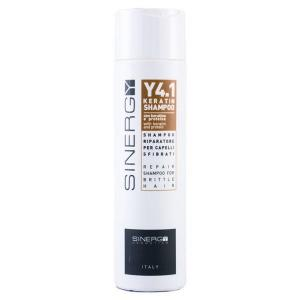Шампунь для реконструкції пошкодженого волосся з кеартином Y4.1 Sinergy 250 мл - 00-00002895