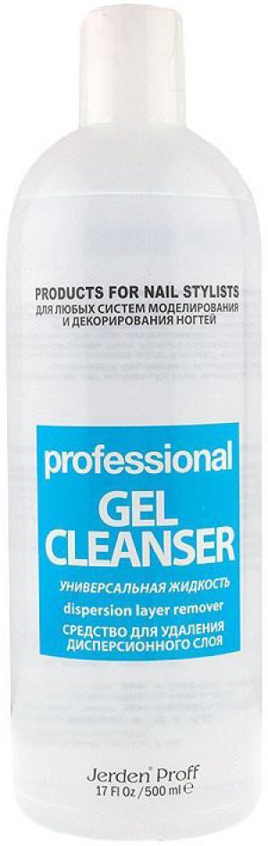 Засіб для видалення липкого шару Jerden Proff Gel Cleancer 500 мл - 00-00002896