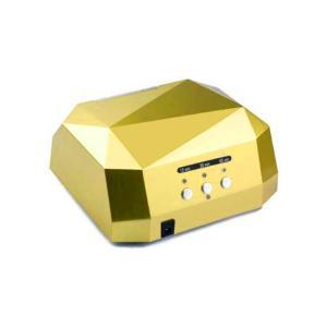 Професійна LED-лампа з сенсором для полімеризації гелю, жовта 36W - 00-00002920