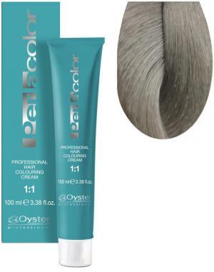 Стійка крем-фарба для волосся Oyster Cosmetics Perlacolor №10/1 Попелястий платиновий блонд 100 мл - 00-00003263