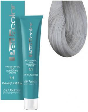 Стійка крем-фарба для волосся Oyster Cosmetics Perlacolor №12/1 Світлий попелястий 100 мл - 00-00003273