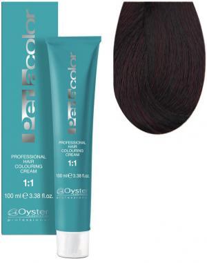 Стійка крем-фарба для волосся Oyster Cosmetics Perlacolor №4/6 Рижий каштановий 100 мл - 00-00003283