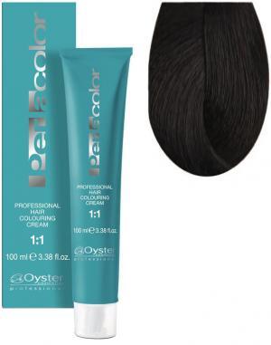 Стійка крем-фарба для волосся Oyster Cosmetics Perlacolor №5/0 Світло-каштановий 100 мл - 00-00003286