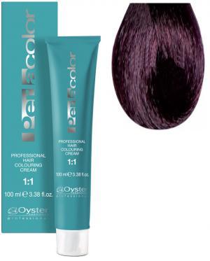 Стійка крем-фарба для волосся Oyster Cosmetics Perlacolor №5/2 Ліловий светло-каштановый 100 мл - 00-00003289