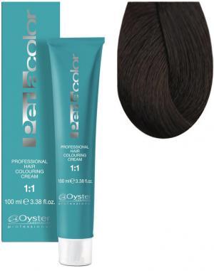 Стійка крем-фарба для волосся Oyster Cosmetics Perlacolor №5/3 Золотистий світло-каштановый 100 мл - 00-00003290