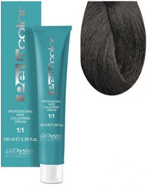 Стійка крем-фарба для волосся Oyster Cosmetics Perlacolor №6/1 Попелястий темний блонд 100 мл - 00-00003300