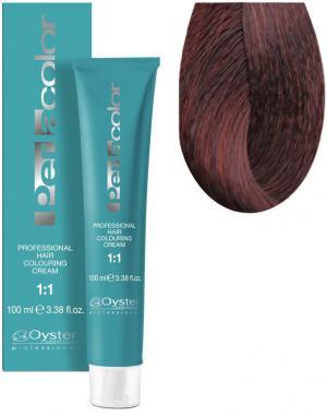 Стійка крем-фарба для волосся Oyster Cosmetics Perlacolor №6/44 Інтенсивний мідний темний блонд 100 мл - 00-00003306