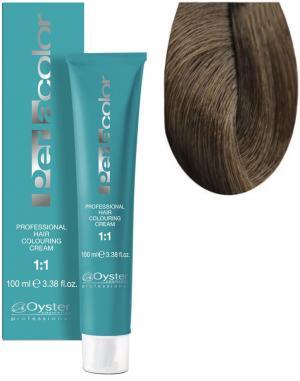 Стійка крем-фарба для волосся Oyster Cosmetics Perlacolor №7/0 Середній блондм 100 мл - 00-00003314
