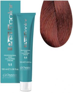 Стійка крем-фарба для волосся Oyster Cosmetics Perlacolor №7/44 Інтенсивний мідний блонд 100 мл - 00-00003322