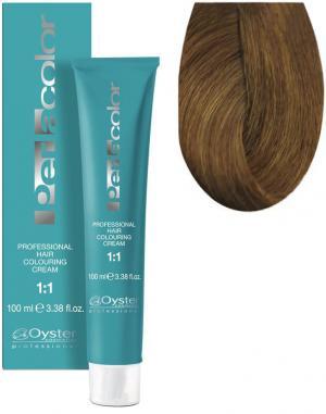 Стійка крем-фарба для волосся Oyster Cosmetics Perlacolor №8/33 Насичений золотистий світлий блонд  100 мл - 00-00003332