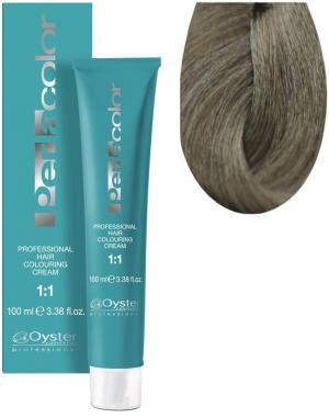 Стійка крем-фарба для волосся Oyster Cosmetics Perlacolor №9/11 Дуже світлий матовий блонд 100 мл - 00-00003342