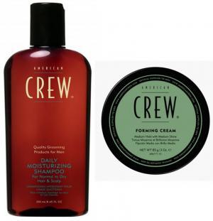 Набір American Crew: шампунь для щоденного використання Daily (250 мл) + Крем формуючий Forming Cream (85 мл) - 00-00003810