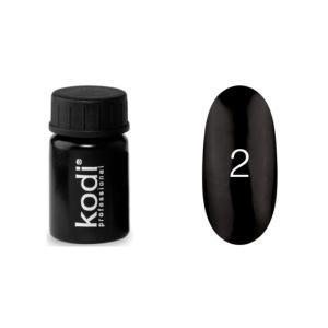 Гель-краска для ногтей Kodi Professional  №02 4 мл - 00-00003849