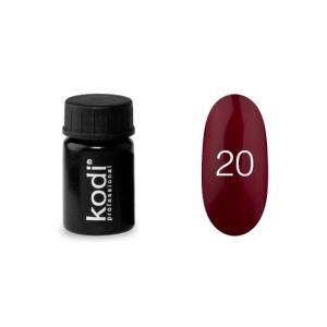 Гель-фарба для нігтів Kodi Professional №20 4 мл - 00-00003867