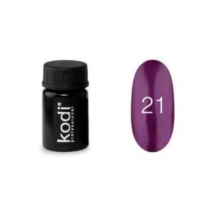 Гель-краска для ногтей Kodi Professional  №21 4 мл - 00-00003868