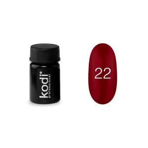 Гель-фарба для нігтів Kodi Professional №22 4 мл - 00-00003869