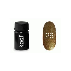 Гель-фарба для нігтів Kodi Professional №26 4 мл - 00-00003873