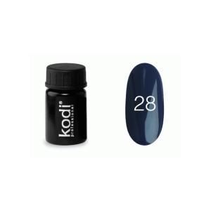 Гель-фарба для нігтів Kodi Professional №28 4 мл - 00-00003875