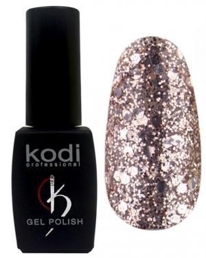 Гель-лак для нігтів Kodi Professional 'Shine' №SH001 Рожеве золото з глитером 8 мл - 00-00004204