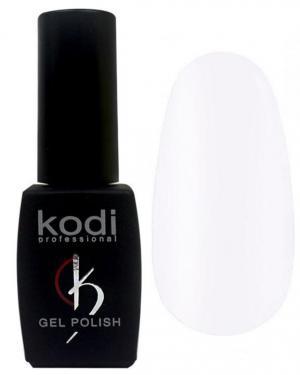 Гель-лак для нігтів Kodi Professional 'Black&White' №BW001 Яскраво-білий (емаль) 8 мл - 00-00004214