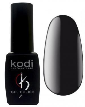 Гель-лак для нігтів Kodi Professional 'Black&White' №BW100 Чорний (емаль) 8 мл - 00-00004224
