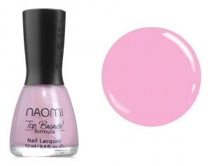 Лак для нігтів Naomi №004 Ніжно-рожевий 12 мл - 00-00004384