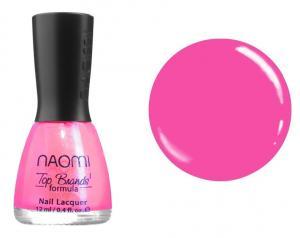 Лак для нігтів Naomi №005 Яскраво-рожевий 12 мл - 00-00004385