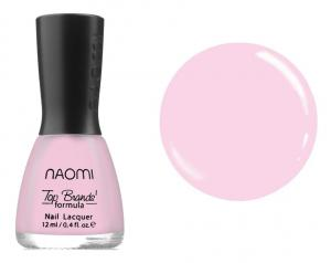 Лак для нігтів Naomi №006 Напівпрозорий рожевий 12 мл - 00-00004386