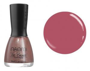 Лак для нігтів Naomi №008 Малиновий з коричневим відтінком 12 мл - 00-00004388