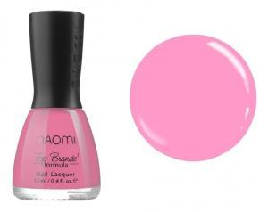 Лак для нігтів Naomi №012 Блідий ляльково-рожевий 12 мл - 00-00004392