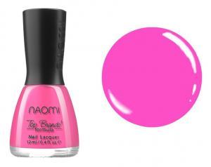 Лак для нігтів №013 Naomi Яскраво-рожевий  12мл - 00-00004393