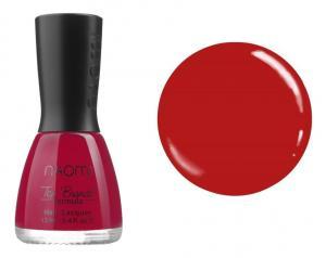 Лак для нігтів №023 Naomi Яскравий червоний 12мл - 00-00004403