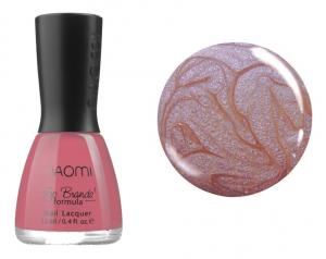 Лак для нігтів №029 Naomi Блідо-рожевий з фіолетовим відблиском 12мл - 00-00004409
