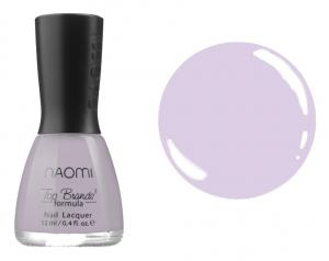 Лак для нігтів №035 Naomi Напівпрозорий світлий бузковий 12мл - 00-00004415