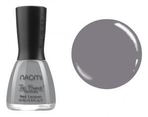 Лак для нігтів №037 Naomi  Сірий 12мл - 00-00004417