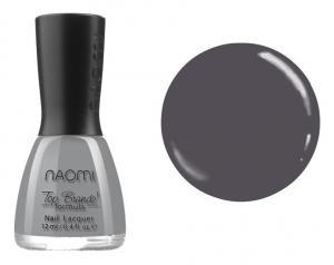 Лак для нігтів №038 Naomi Темний сірий 12мл - 00-00004418