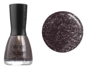 Лак для нігтів №051 Naomi Фиолетовый с блестками 12мл - 00-00004431
