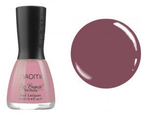 Лак для нігтів №064 Naomi Світлий ягідний 12мл - 00-00004444