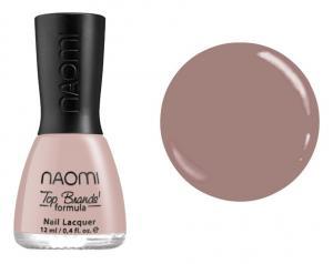 Лак для нігтів №084 Naomi Темний бежевий 12мл - 00-00004464