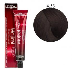 Крем-краска для волос L'Oreal Professionnel Majirel №4/35 Темный шатен 50 мл - 00-00004634