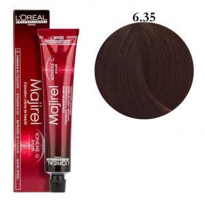 Крем-краска для волос L'Oreal Professionnel Majirel №6/35 Темный блондин золотистый красное дерево 50 мл - 00-00004635