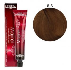 Крем-фарба для волосся L'Oreal Professionnel Majirel №8/3 Темний русявий з мідним відтінком 50 мл - 00-00004641