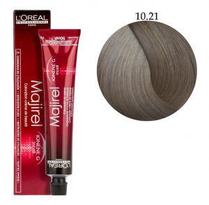 Крем-краска для волос L'Oreal Professionnel Majirel №10/21 Очень-очень светлый блондин пепельный радужный 50 мл - 00-00004646