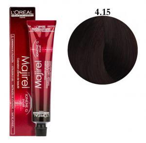 Крем-краска для волос L'Oreal Professionnel Majirel №4/15 Шатен пепельный красное дерево 50 мл - 00-00004649