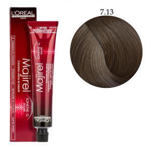 Крем-фарба для волосся L'Oreal Professionnel Majirel №7/13 Коричневий попелястий 50 мл - 00-00004650