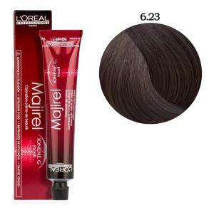 Крем-фарба для волосся L'Oreal Professionnel Majirel №6/23 Темний блондин перламутрово-золотистий 50 мл - 00-00004656