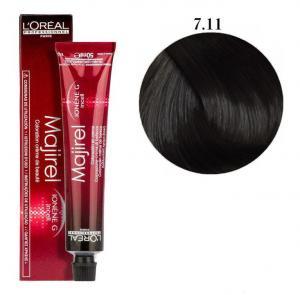 Крем-фарба для волосся L'Oreal Professionnel Majirel №7/11 Блондин інтенсивно попелястий 50 мл - 00-00004659